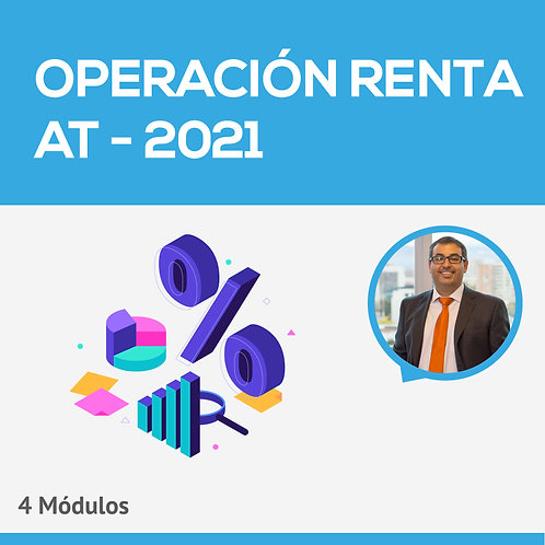 Operación Renta AT - 2021 - 4 Módulos - Hugo Catalán