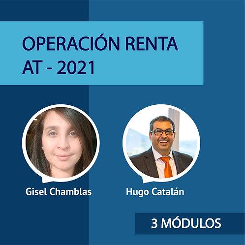 Pack 3 Módulos Operación Renta - Gisel y Hugo
