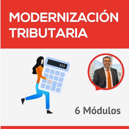 Modernización Tributaria - 6 Módulos - Hugo Catalán