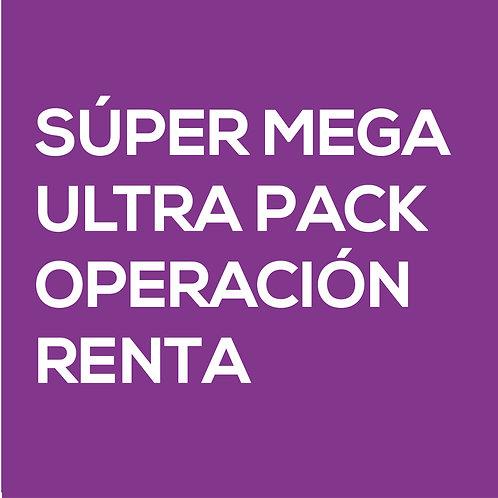 SÚPER MEGA ULTRA PACK OPERACIÓN RENTA - Hugo Catalán
