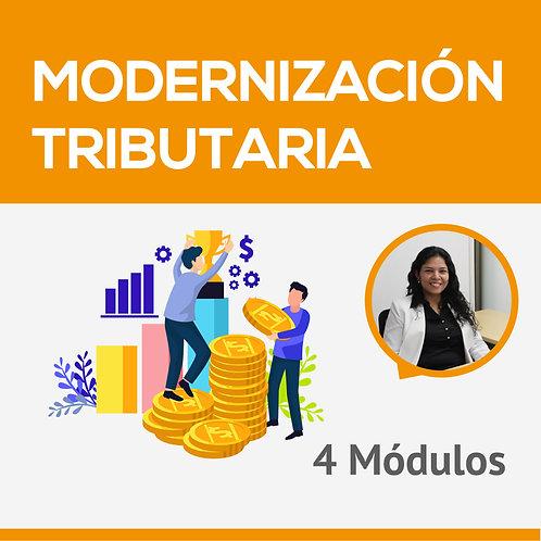 Modernización Tributaria - Ruby Vásquez