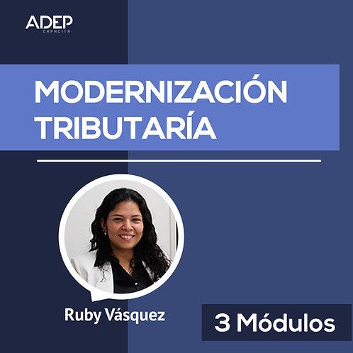 3 Módulos - Modernización Tributaria