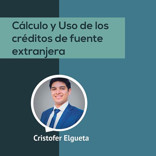 CÁLCULO Y USO DE LOS CRÉDITOS DE FUENTE EXTRANJERA