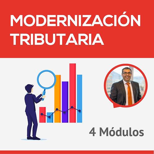 Modernización Tributaria - 4 módulos - Hugo Catalán