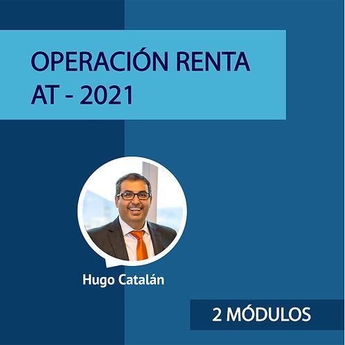 Pack 2 Módulos Operación renta - Hugo