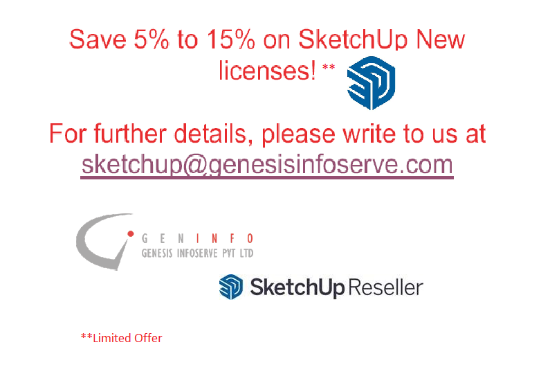 Save on Sketchup Licenses