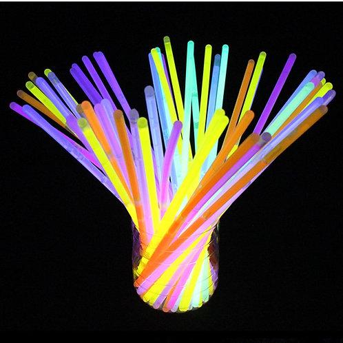 100 Luminous Glow Bracelets