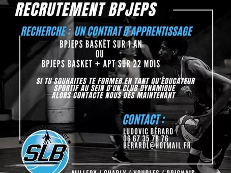 Recrutement BPJEPS