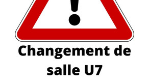 Changement de salle U7/Baby