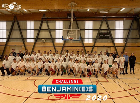 Finale Départementale CHALLENGE BENJAMINS