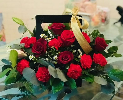 Floral Burst Box
