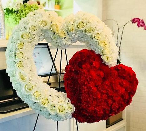 Heart Wreaths - Always & Forever