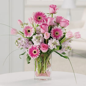 her-first-flowers-soft-pink-flowers-vase