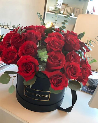 Boxed Roses VDay