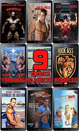 PACK Training au MAXXX (9 EBOOKS)
