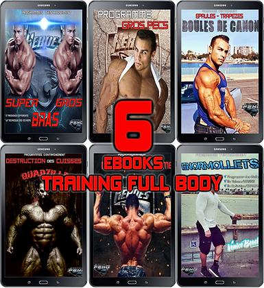 PACK 6 EBOOKS Training full body