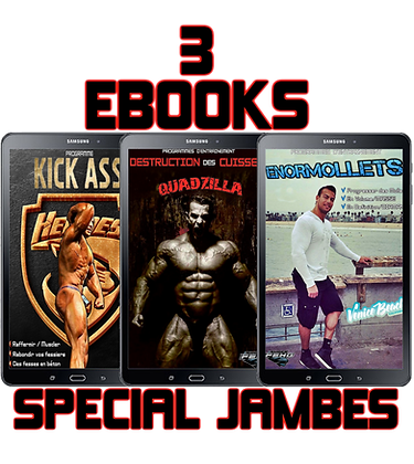 PACKS 3 EBOOK SPECIAL JAMBE