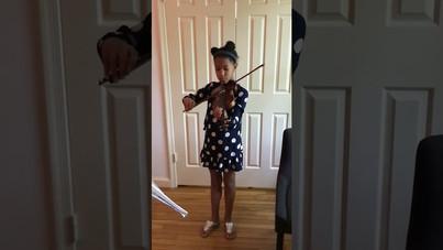 Key EC - Vanessa 5th Gr Violin Performance (Mr Na'Vaughn Martin)