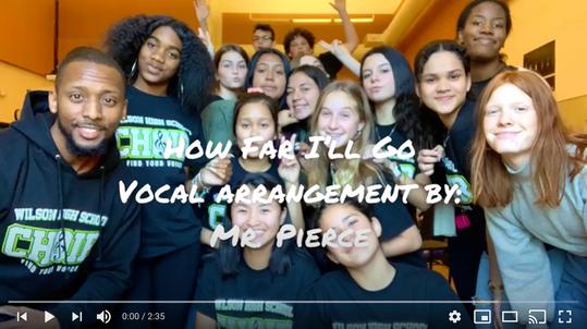 Wilson HS - Choir Performance (Mr. Anthony Pierce)