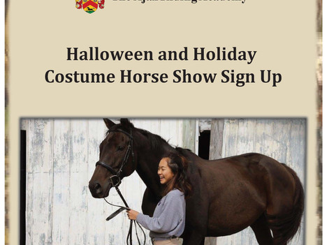Halloween & Holiday Costume Shows!