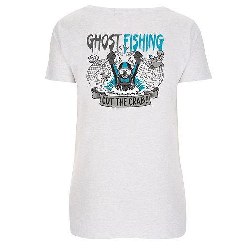 """GHOST FISHING Women's T-Shirt """"Cut the Crab!"""""""
