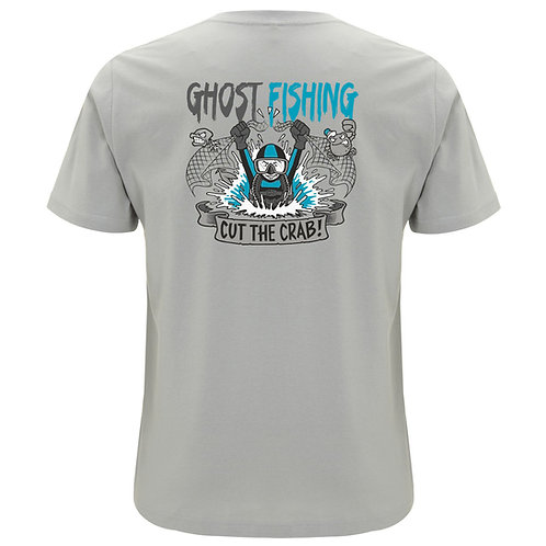 "GHOST FISHING Men's T-Shirt ""Cut the Crab!"""