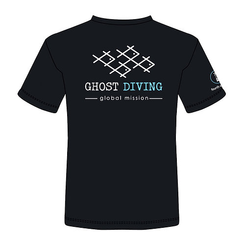 GHOST DIVING T-Shirt by Fourth Element (Men's/Black)