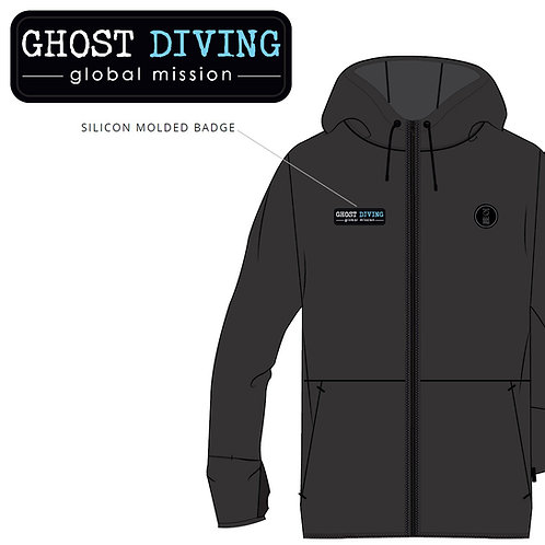 GHOST DIVING Xerotherm ECONYL® Hoodie by Fourth Element