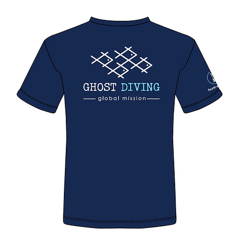 GHOST DIVING T-Shirt by Fourth Element (Men's/Navy)