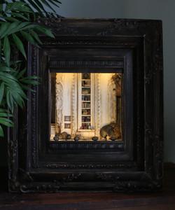 Library Scene-SOLD