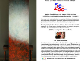 MoEA Exhibition: 50 States/200 Artists