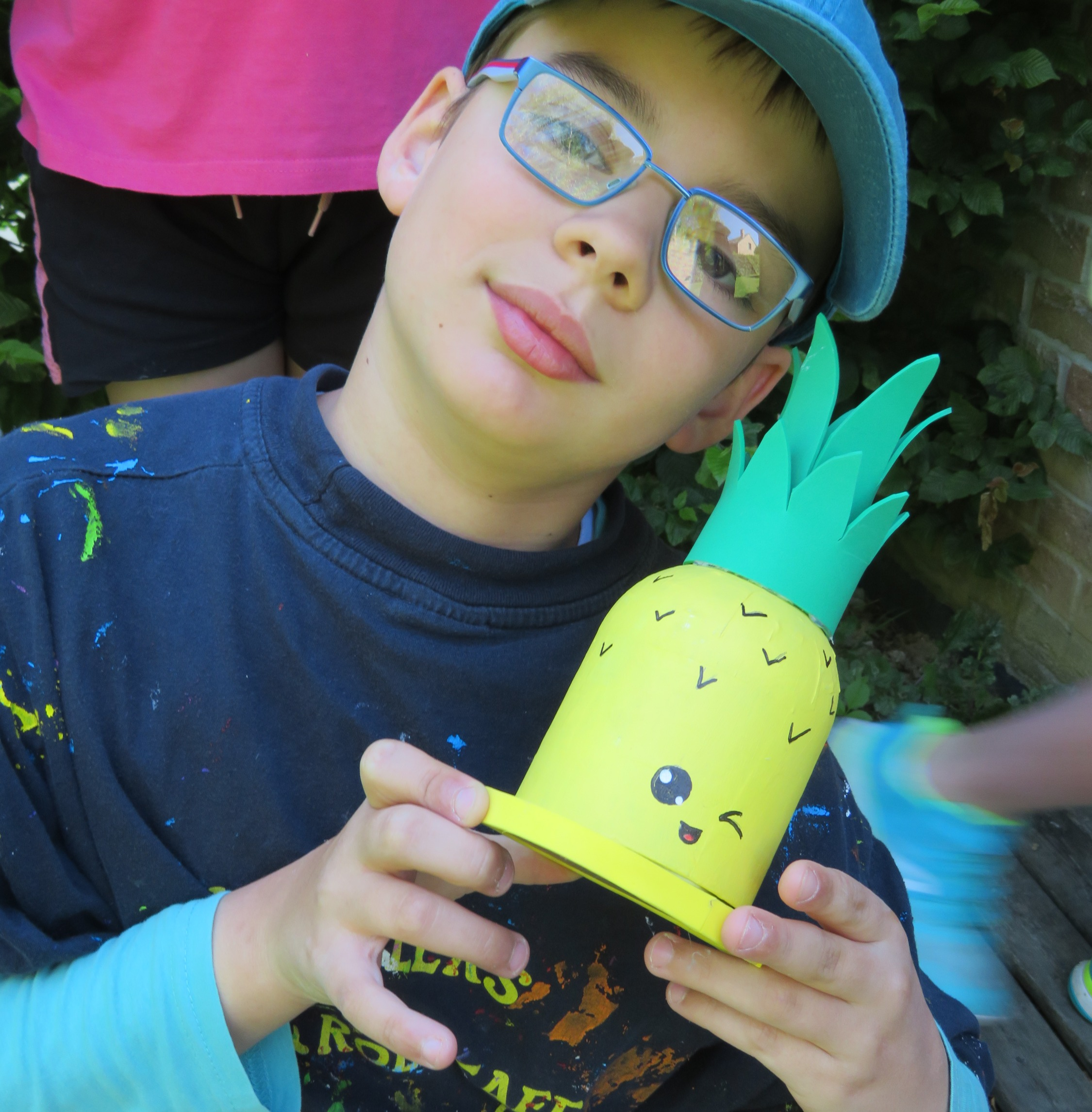 stage les petits artisans: ananas