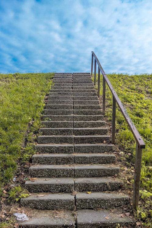 stair way to heaven - volendam