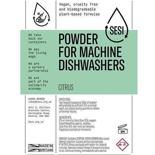 SESI Citrus Dishwasher Powder