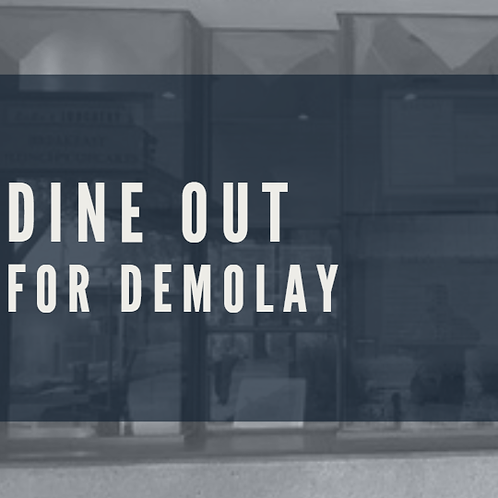 Dine Out For Demolay