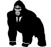 Black and White Gorilla-one small.png