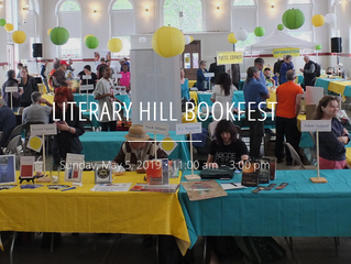 Come See Us at The Literary Hill Bookfest!