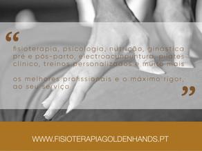 De Golden Hands para Fisioterapia Rita Lourenço