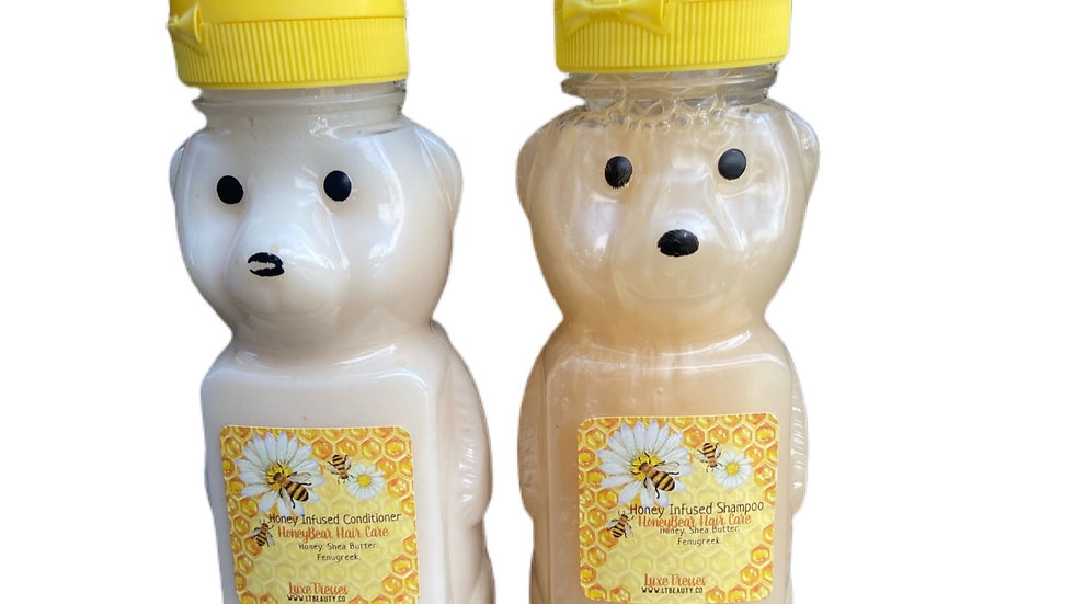 Honey Bear Hair Set