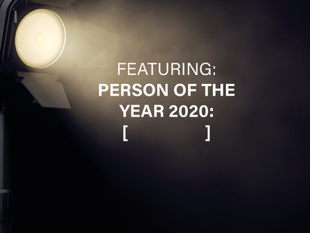 The Person of The Year 2020: YOU