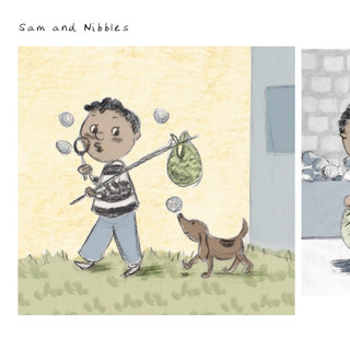 Sam and Nibbles
