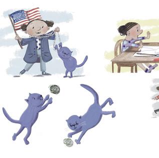 Purple Cat Easy Reader