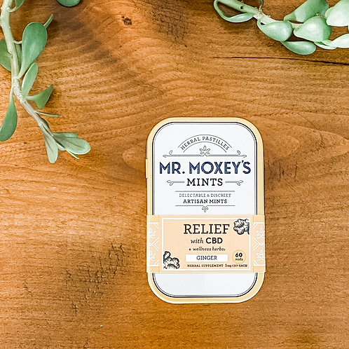 Mr Moxey's CBD mint - Relief