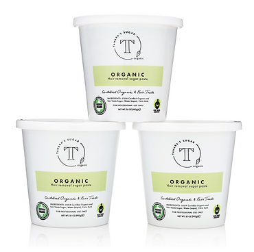 Get certified to sugar. Tamara's sugar. Certified organic and fair trade.