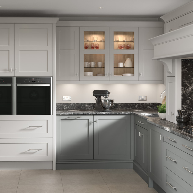 Hunton  Dust Grey & Dove Grey