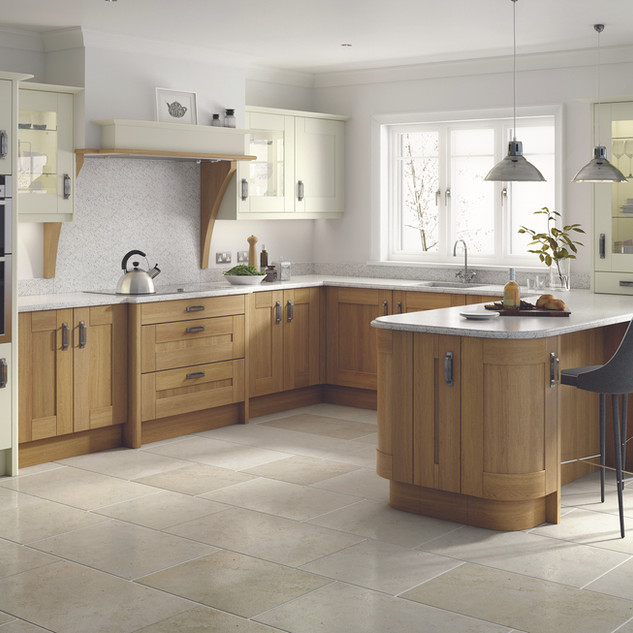 Broadoak Alabaster & Oak