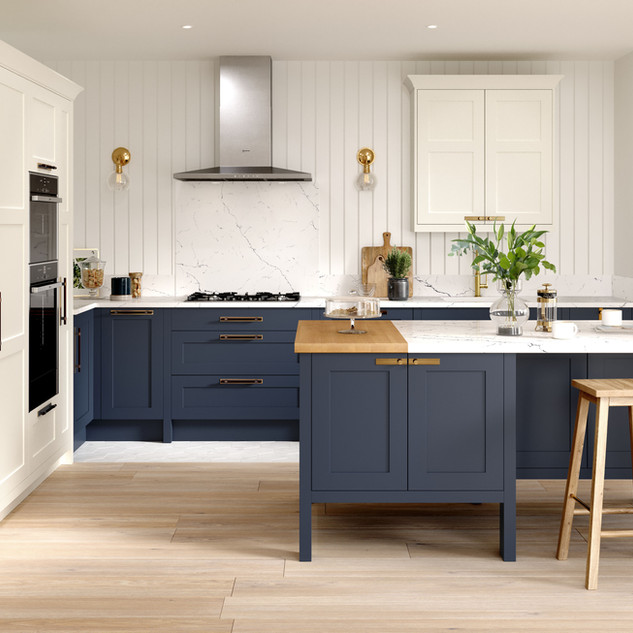 Hunton Porcelain & Hartforth Blue