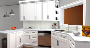 Renders Kitchen 1