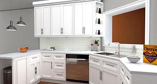 Renders Kitchen 1