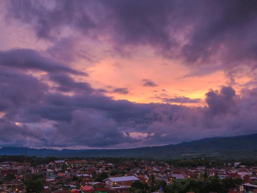 Twilight at Magelang